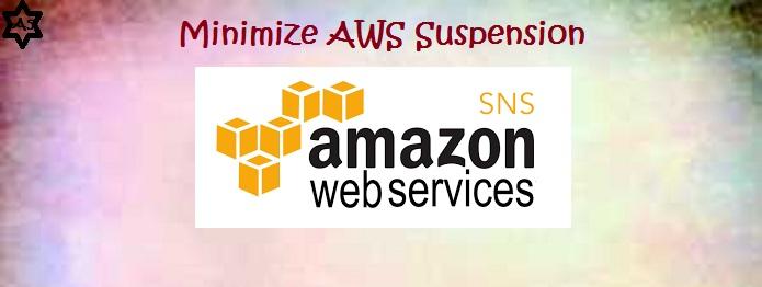 Amazon-SNS-minismize-suspension