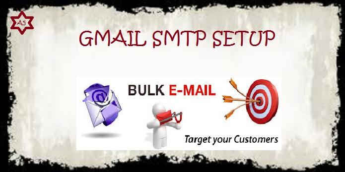 Gmail-SMTP-Setting