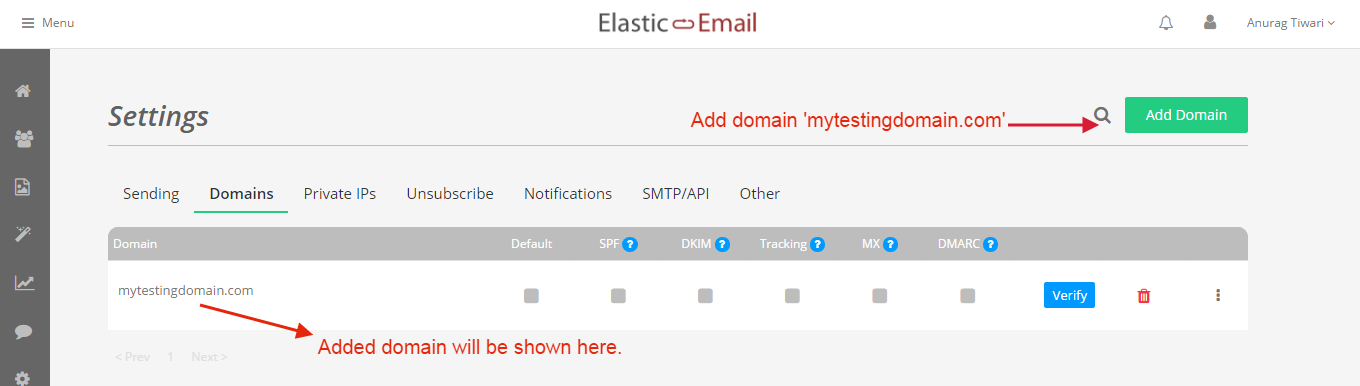elasticemail-domainadded