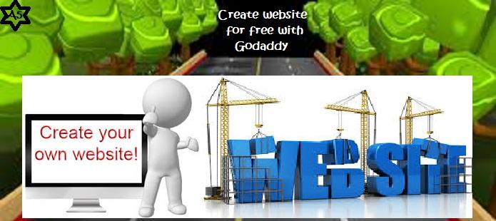 website-for-free-using-godaddy
