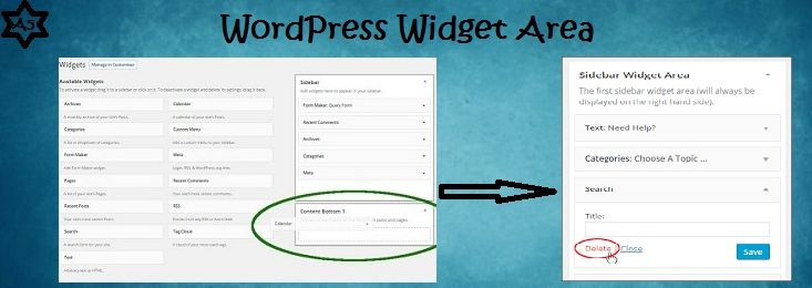 wordpress-widget-area