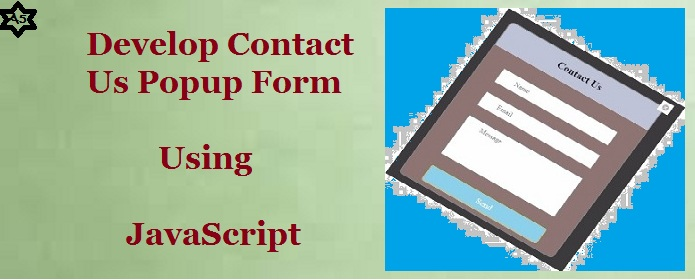 Contact Us Popup Form Using JavaScript | A5THEORY