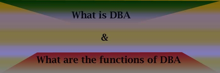 dba-functions