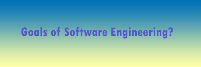 goals-software-engineering