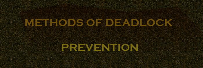 deadlockprevention