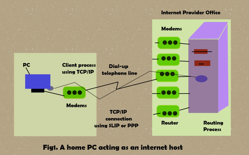 datalink layer and internet host