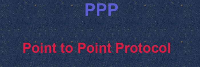 ppp-point-to-point protocol