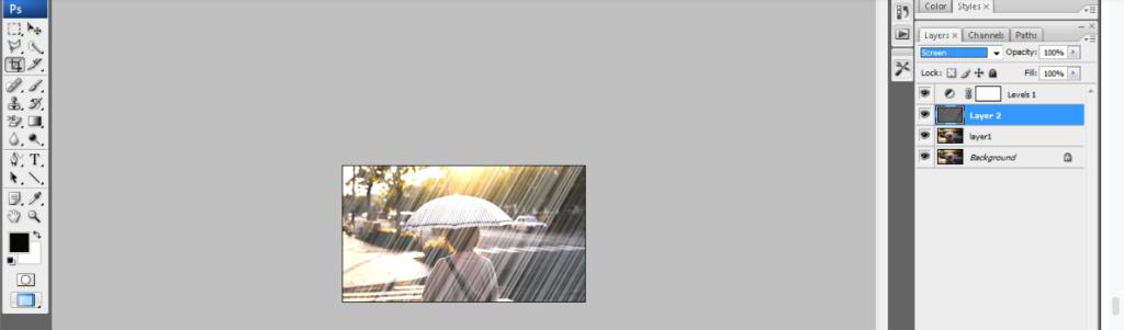 rain effect in photoshop12