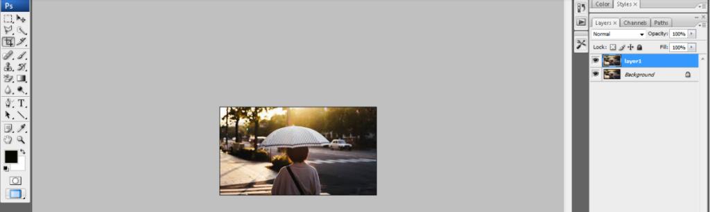 rain effect in photoshop2
