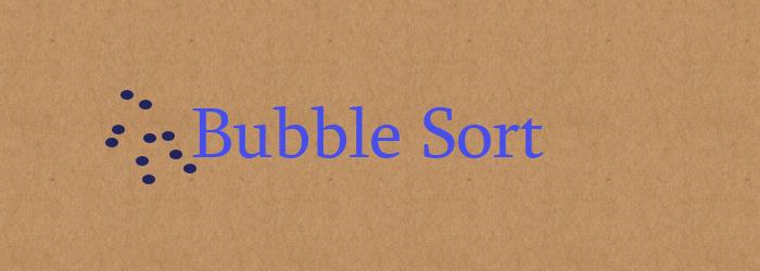 bubble sort feature