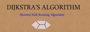 dijkstra algorithm feature