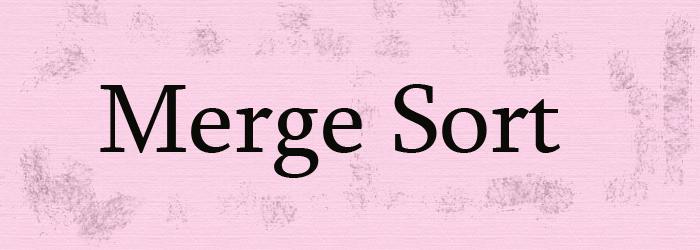 merge sort feature