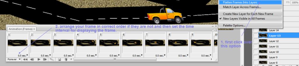 moving car gif frame detail