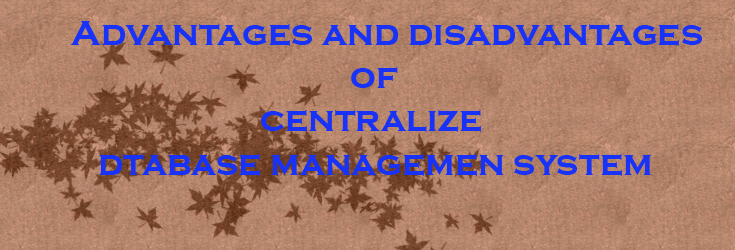 centralize database system