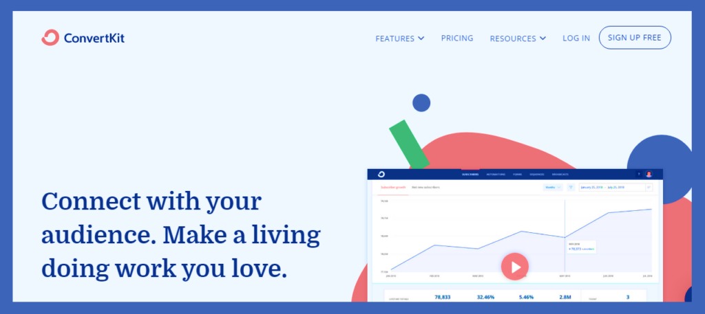 convertkit-email marketing service new