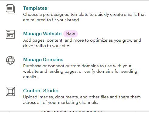 mailchimp brand features