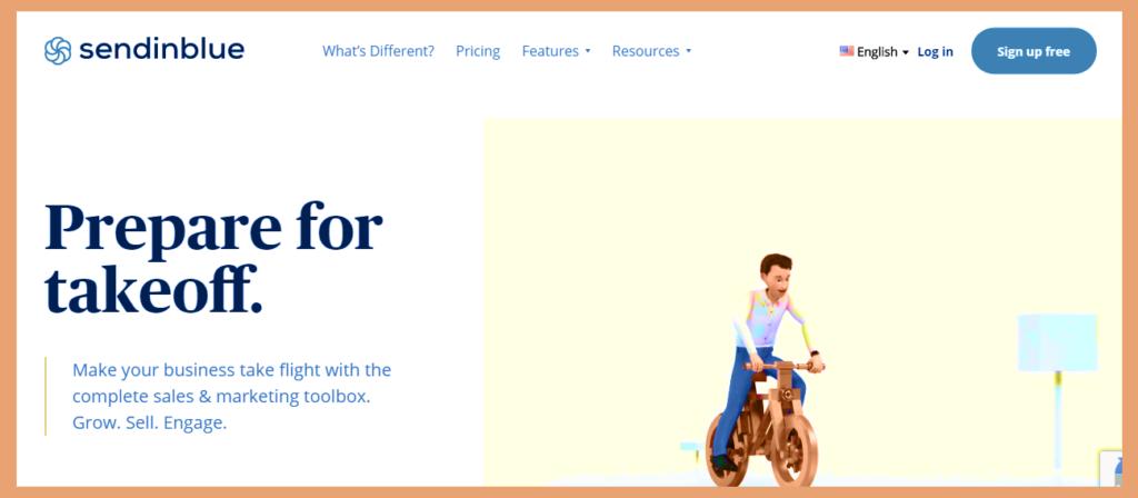 sendinblue email marketing service new