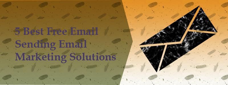 5 best bulk free email sending email marketing sending services
