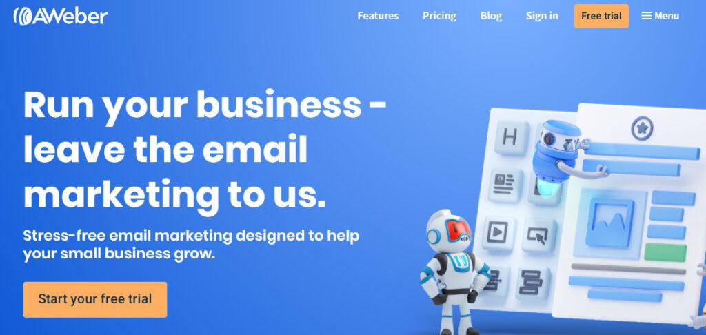 Aweber -Best email marketing service 2020