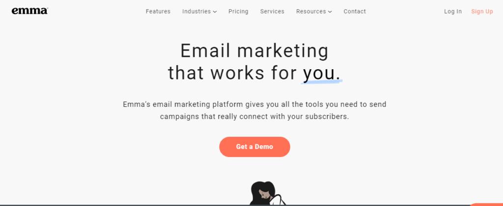 Emma - best email marketing service 2020