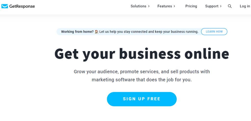 GetResponse - Best email marketing service 2020