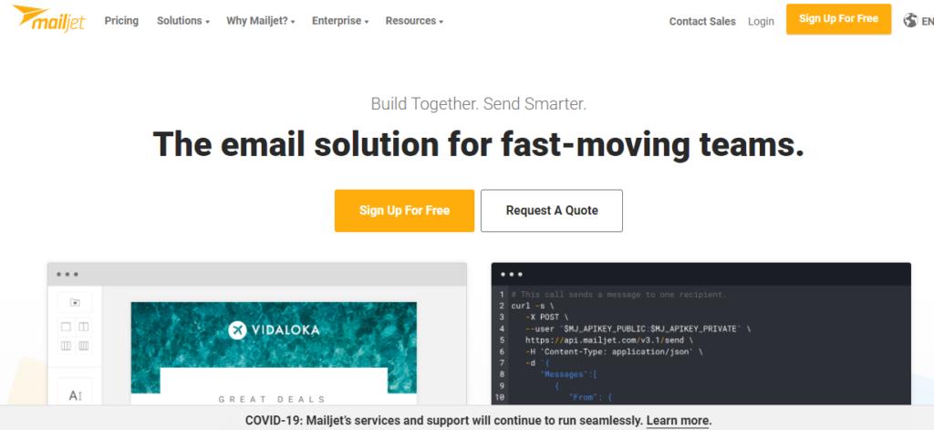 MailJet- Best email marketing service 2020