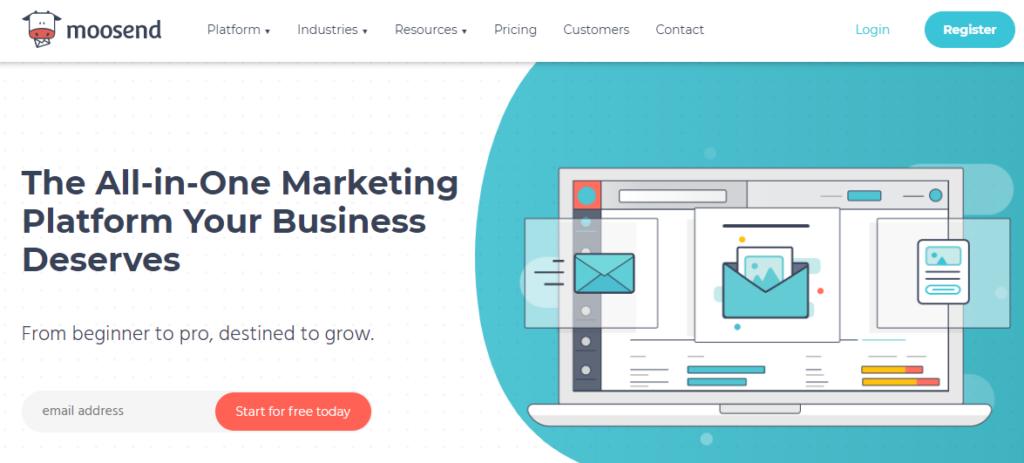 Moosend - Best email marketing service 2020