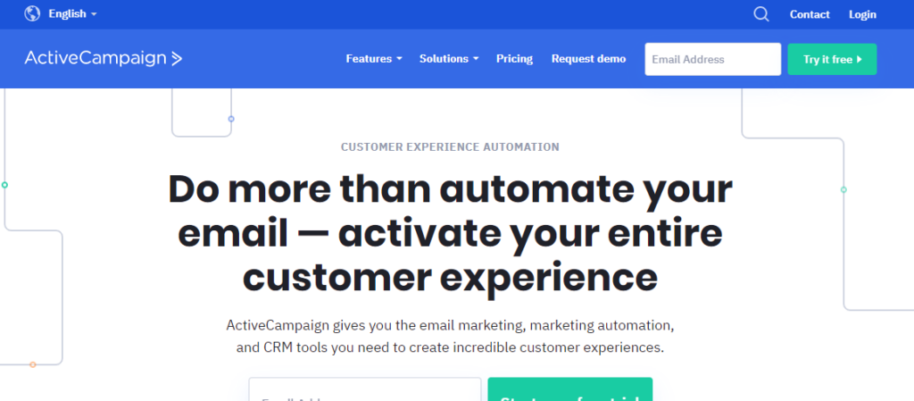 active campaign - Best email marketing service 2020