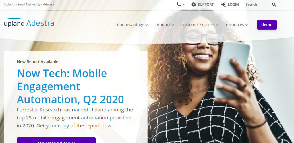 adestra- best email marketing service 2020