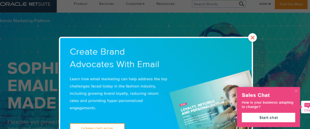 bronto - best email marketing service 2020