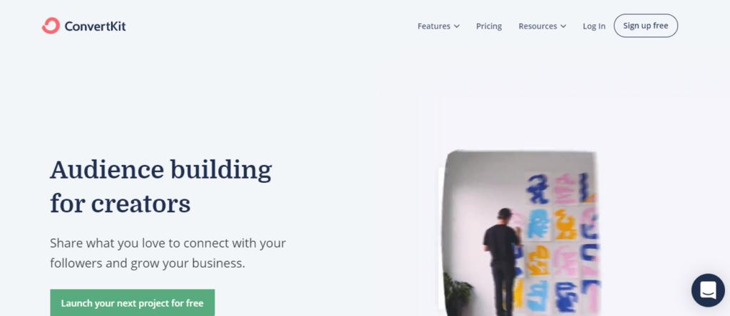 convertkit - best email marketing service 2020