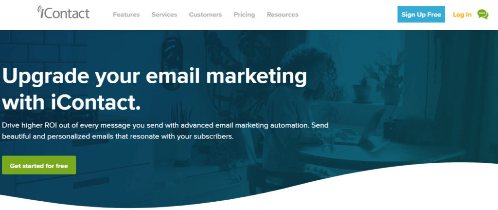 iContact - best email marketing service 2020