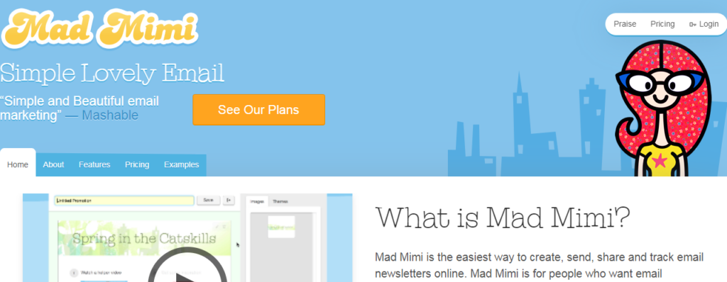 mad mimi - best email marketing service 2020