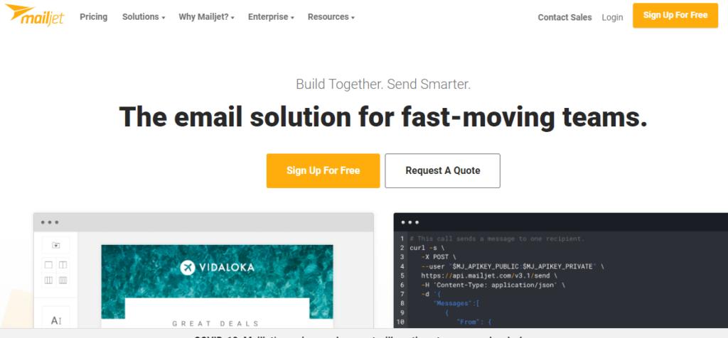 mailjet email marketing service