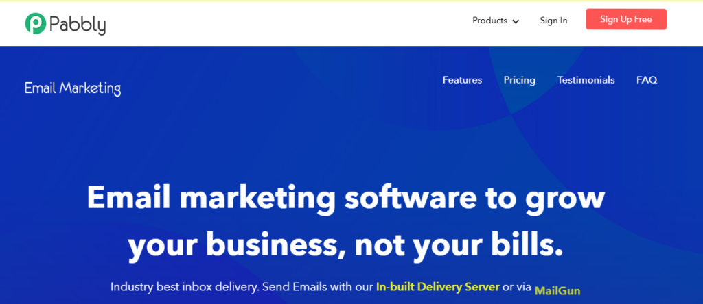 pabbly - best email marketing service 2020