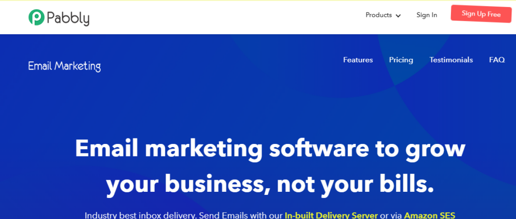 pabbly email marketing service