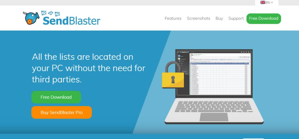 sendblaster - best email marketing service 2020