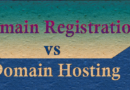 domain registration vs domain hosting in hindi