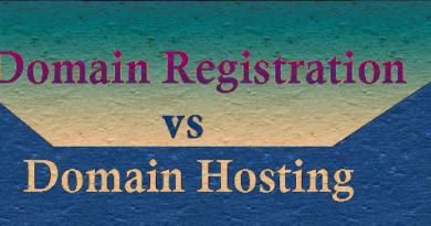 domain registration vs domain hosting in hindi