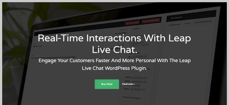 leap live chat wordpress plugin-live chatbox