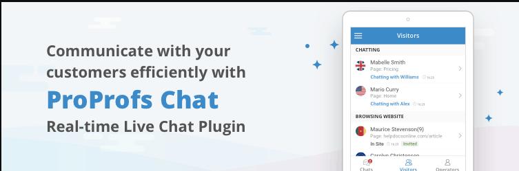 proprofs wordpress chat plugin-live chatbox