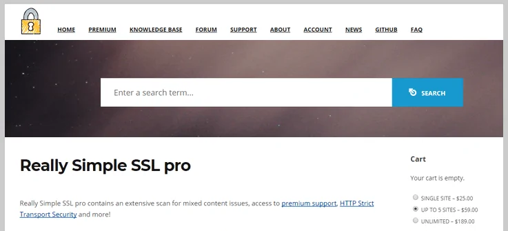 really simple ssl pro wordpress ssl plugin