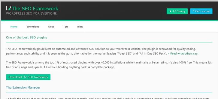 seo frame work - best seo plugins