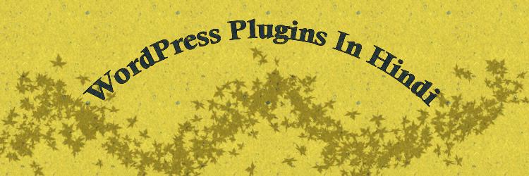 wordpress plugins in hindi