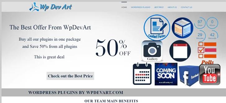 wp dev art wordpress booking plugin