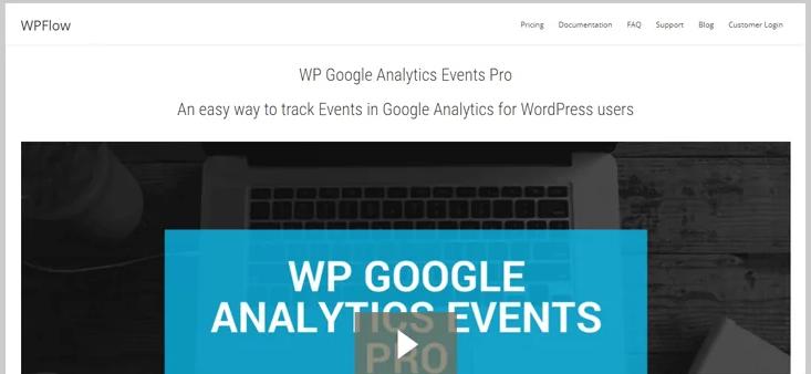 wp google analytics events wordpress plugin