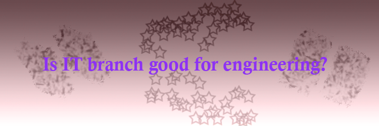 Is IT branch good for engineering
