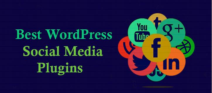WordPress social media plugins copy