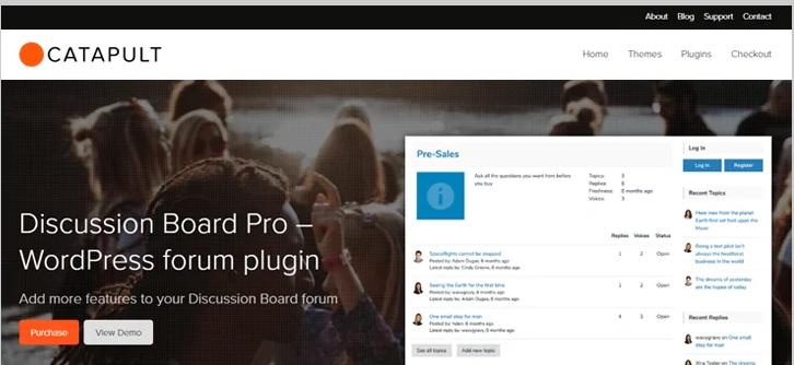 discussion board pro wordpress forum plugin