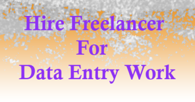 hire freelancer for data entry project